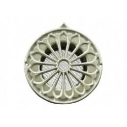 Kerek dekoratív szellőzőrács Dalap ULMA 125