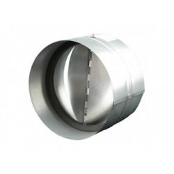Belső fém toldóidom visszacsapó szeleppel és szigeteléssel 125 mm