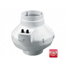 Centrifugális csőventilátor Dalap TURBINE P 125 T átmérővel 355 m³/h átlag légszállítással