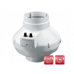 Centrifugális csőventilátor Dalap TURBINE P 200 STARK T golyóscsapággyal, termosztáttal és nagyobb teljesítménnyel
