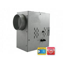 Radiális csőventilátor Dalap SPV 150 T golyóscsapággyal, termosztáttal