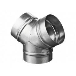 Fém Y idom DALAP MP 125 csővezeték elosztására vagy összekötésére