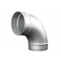 Görbületi galvanizált fém könyök DALAP EP 90°/125mm