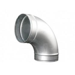 Görbületi galvanizált fém könyök DALAP EP 90°/150mm