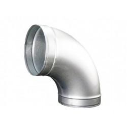 Görbületi galvanizált fém könyök DALAP EP 90°/200mm