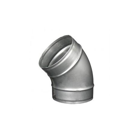Galvanizált fém könyökidom DALAP EP 45°/125mm