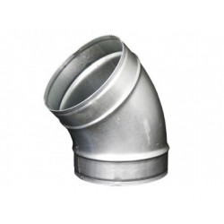 Galvanizált fém könyökidom DALAP EP 45°/150mm