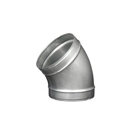 Galvanizált fém könyökidom DALAP EP 45°/200mm