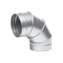 Görbületi galvanizált fém könyök DALAP EP 90°/250mm