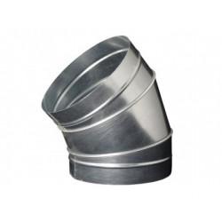 Galvanizált fém könyökidom DALAP EP 45°/250mm