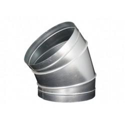 Galvanizált fém könyökidom DALAP EP 45°/315mm