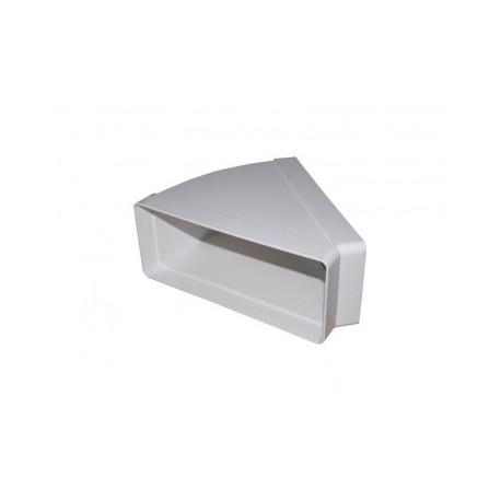 Vízszintes könyök idom Dalap 955 (220x90mm/45°)