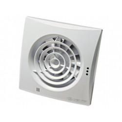 Fürdőszoba ventilátor alacsony zajszinttel, időzítővel és páraérzékelővel Vents 100 Quiet TH