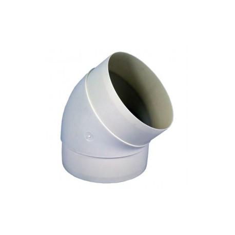 Könyök idom 45° Dalap 591 - 125mm