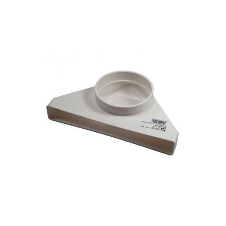 Átalakító idom Dalap 6013 (Ø 125/204x60 mm)