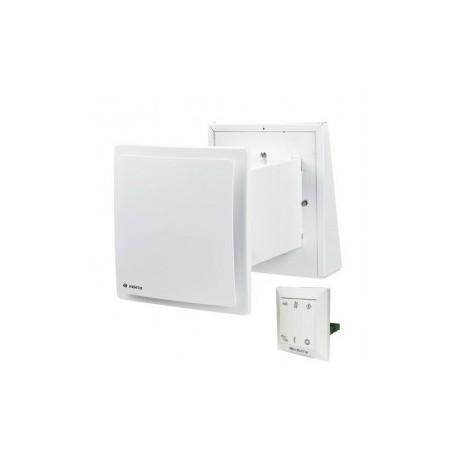 Szobai hővisszanyerő - 255-475 mm -ig állítható (58 m³/h.) + vezérlő panel