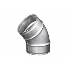 Galvanizált fém könyökidom DALAP EP 45°/100mm