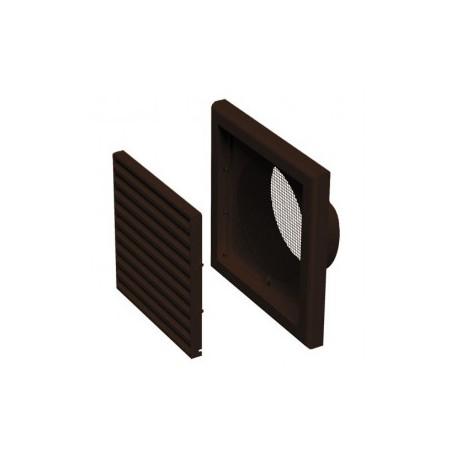Műanyag barna szellőzőrács DALAP GP 120 FN