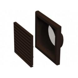 Műanyag barna szellőzőrács DALAP GP 100 FN