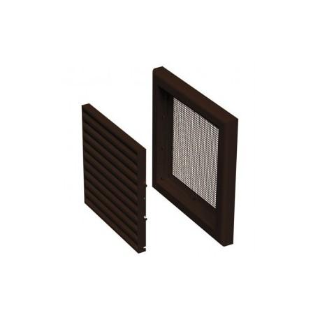 Műanyag barna szellőzőrács DALAP GP 100 N