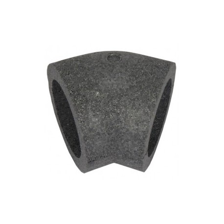 Könyökidom szigetelés DALAP TI491 45° (100 mm)