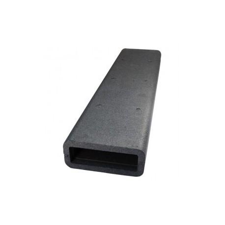 Szögletes csővezeték szigetelés DALAP TI8010  (204x60 mm/1 m)