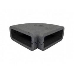 Szögletes könyökidom szigetelés DALAP TI8281 90° (204x60 mm)