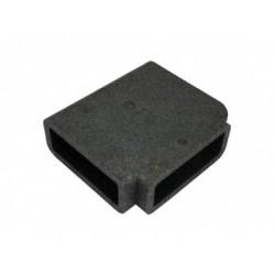 Szögletes T idom szigetelés DALAP TI838 (204x60 mm)