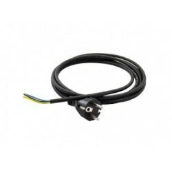Hálózati kábel 3x0,75 mm fehér (3 méter)