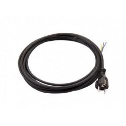 Hálózati kábel 3x0,75 mm fehér (5 méter)
