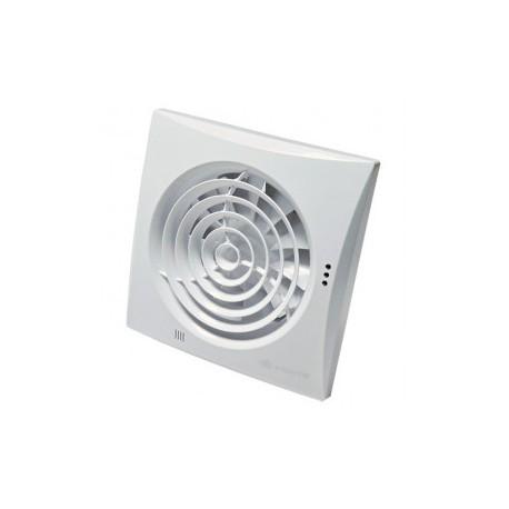 Fürdőszobai ventilátorok alacsony zajszinttel és időzítő Vents 125 Quiet T