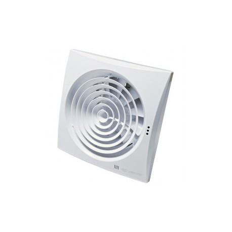 Fürdőszobai ventilátorok alacsony zajszinttel, időzítő és páraérzékelővel Vents 150 Quiet TH
