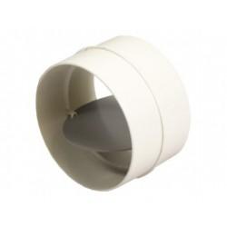 Csőtoldó visszacsapó szeleppel Dalap 2121 (125 mm)