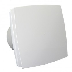 Fürdőszobai ventilátor Dalap 150 BF ECO, halkított, energiatakarékos, előlappal