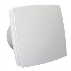 Fürdőszobai ventilátor előlappal és időzítővel, Ø 100 mm, gazdaságos és halk működés