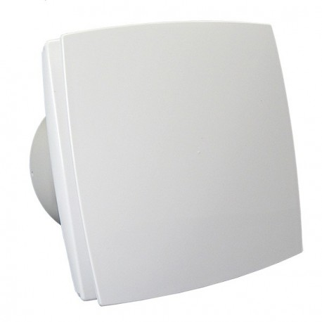 Fürdőszobai ventilátor Dalap BFZ 125 emelt teljesítménnyel és időzítővel