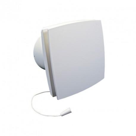 Fürdőszobai ventilátor Dalap BFL 125 emelt teljesítménnyel és húzókapcsolóval