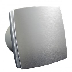 Fürdőszobai ventilátor Dalap 125 BFA 12V alumínium előlappal