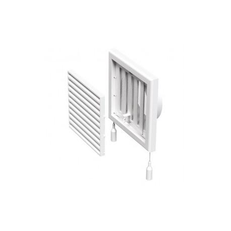 Műanyag állítható szellőzőrács csőcsonkkal DALAP GP 100 FLN