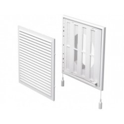 Műanyag állítható szellőzőrács csőcsonkkal DALAP GP 250/150 FLN