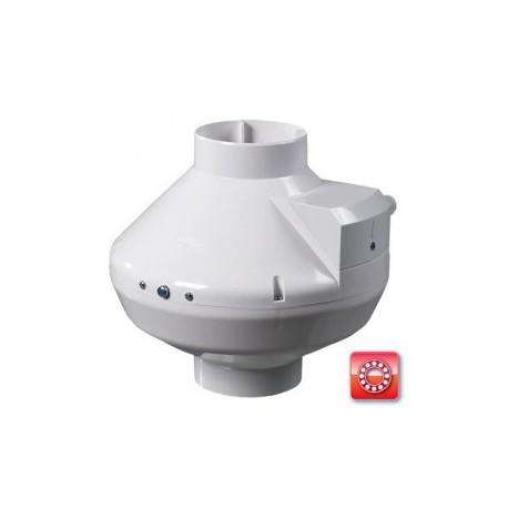 Centrifugális csőventilátor Vents VK 125 átmérővel és 355 m³/h átlag légszállítással