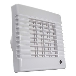 Fürdőszoba ventilátor Dalap 100 LVZW, emelt teljesítménnyel időzítővel és  páraérzékelővel
