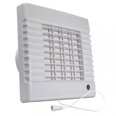 Fürdőszobai ventilátor Dalap LVZ 100, halkított időzítővel