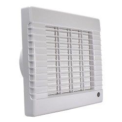 Fürdőszobai ventilátor Dalap 125 LVZ ECO, automata zsalus, halkított, időzítővel