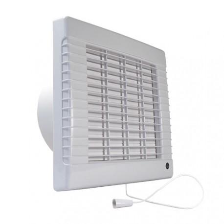 Fürdőszobai ventilátor Dalap LVZ 150, halkított időzítővel