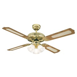 Mennyezeti ventilátor Westinghouse Monarch Trio tölgy, mahagóni