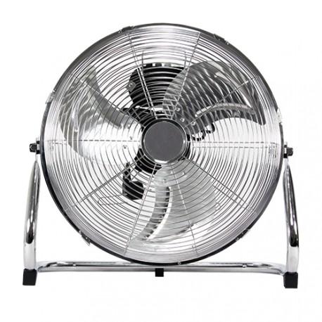 Króm padló ventilátor – 45 cm