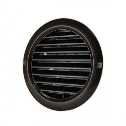 Műanyag állítható barna szellőzőrács csőcsonkkal DALAP GP 125 RUNF BROWN