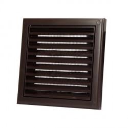 Műanyag barna szellőzőrács DALAP GP 120 N BROWN