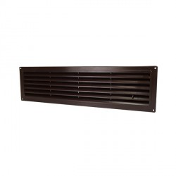 Barna ajtórács DALAP GP 350 (332x93, 5 mm)